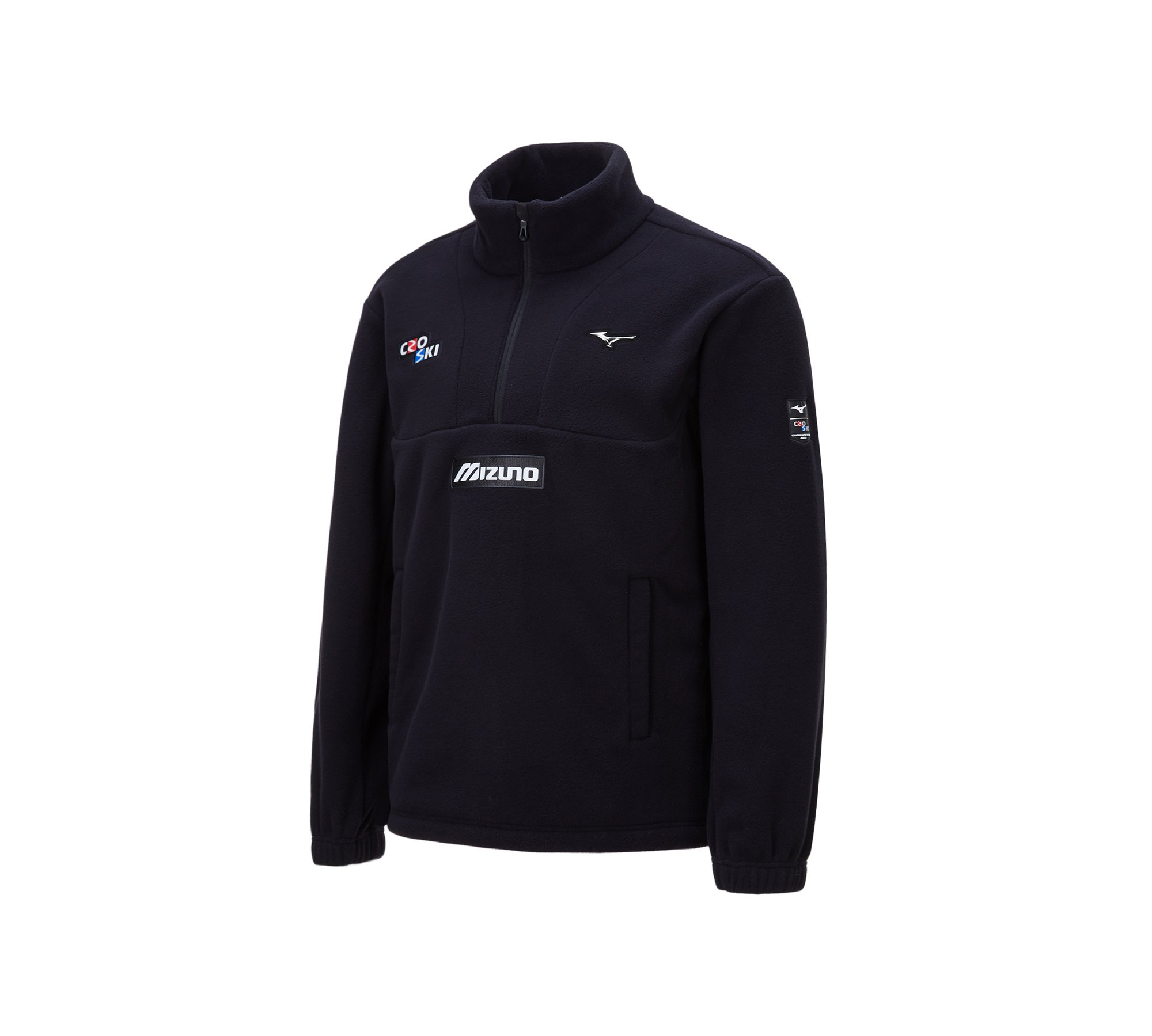 CRO SKI FLEECE ZIP UP_32YE0670, 블랙
